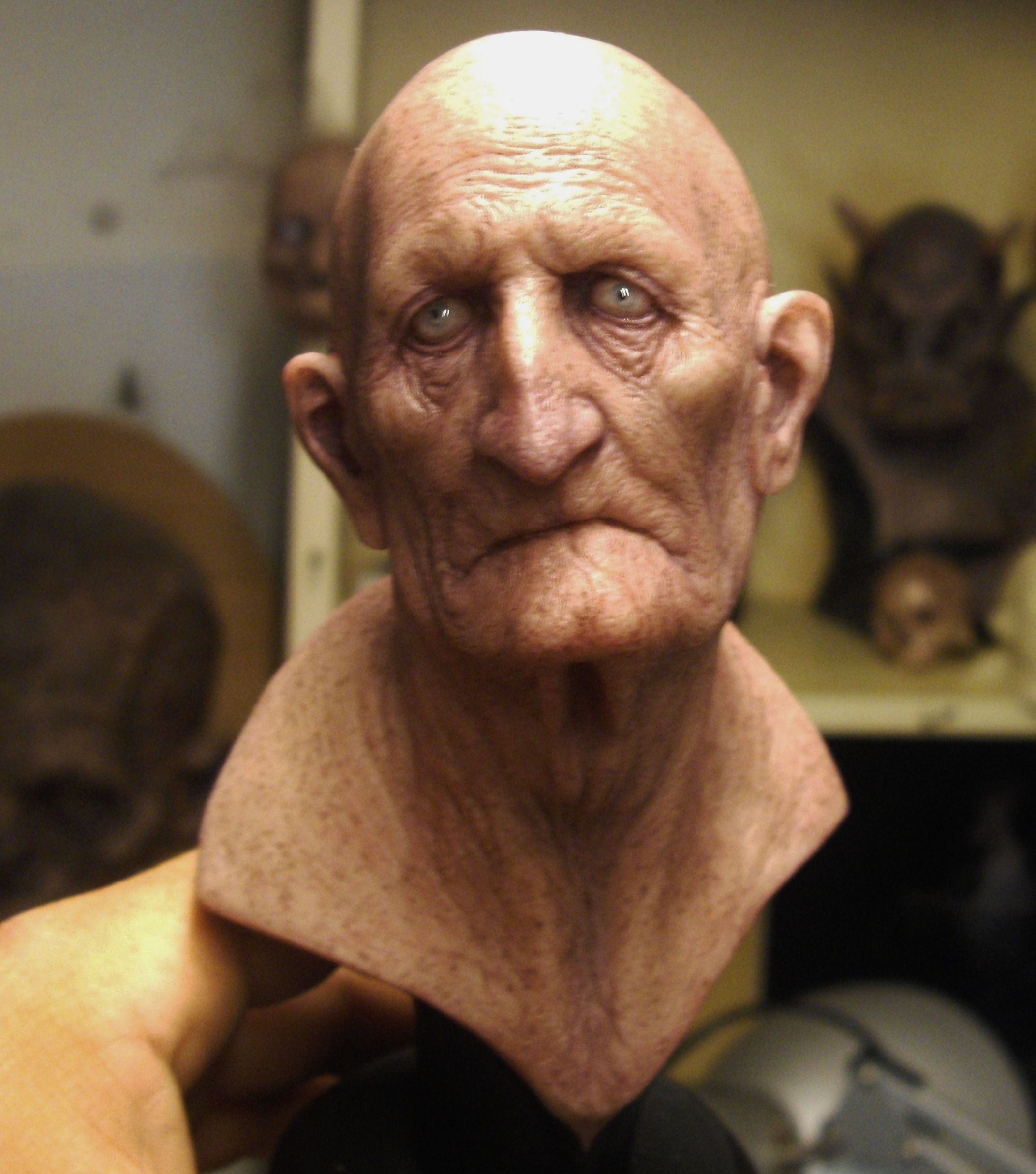 old man by boularis deviantart com on deviantart clay