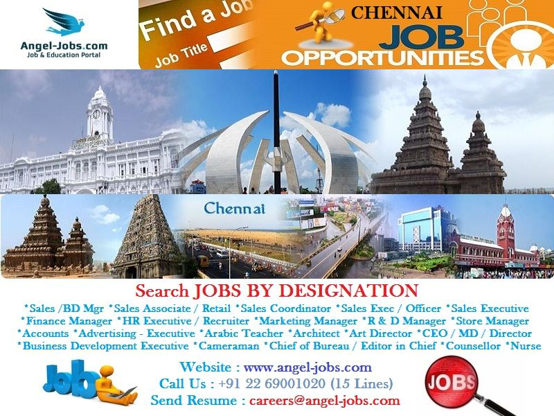 Latest Job Opportunities in Chennai AngelJobs Careers
