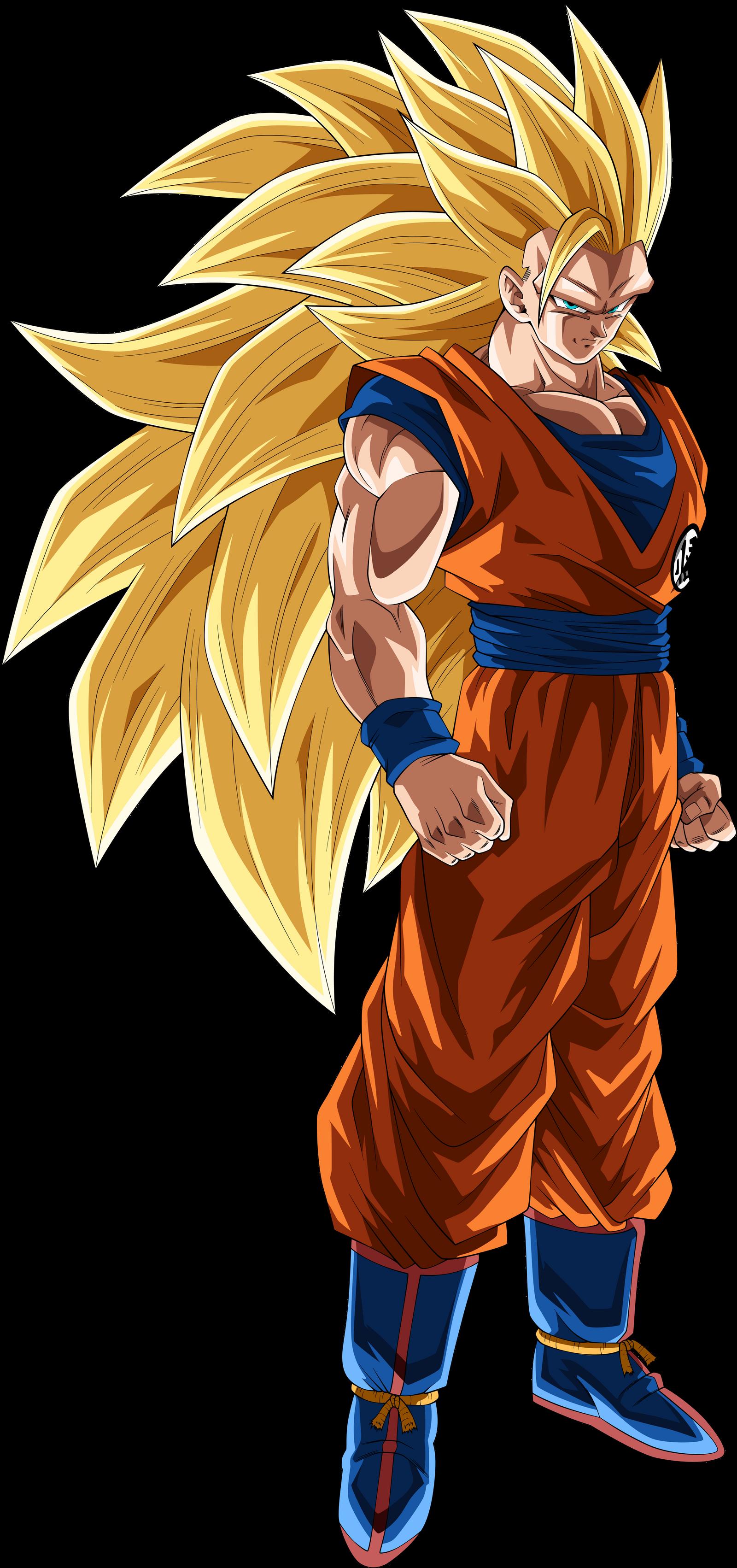 Goku (Super Saiyan 3) by TheTabbyNeko on DeviantArt