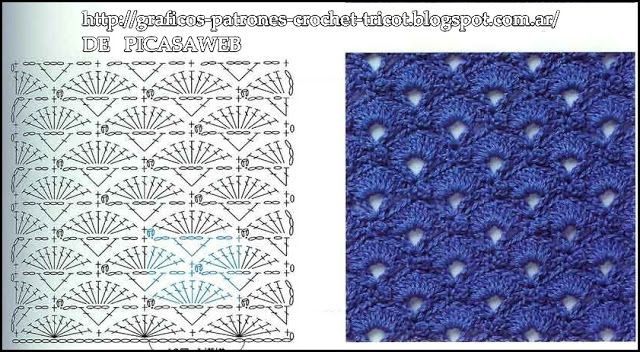 = CROCHET PATTERNS = CROCHET = GRAPHICS = TRICOT = TWO NEEDLES: PATTERNS - CROCHET - GRAPHICS - CROCHET