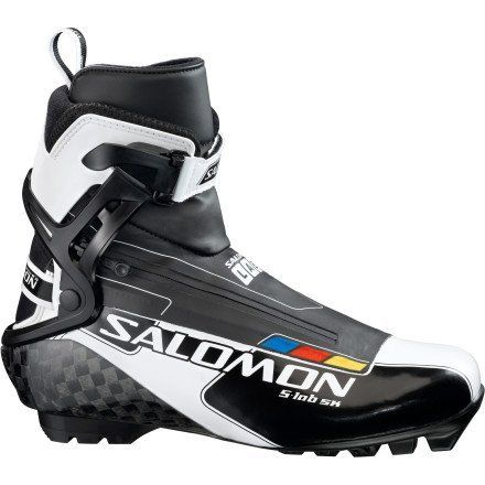 Salomon S-Lab SNS Pilot Skate Boot - Men's Black/White, US 11.0/UK 10.5 by Salomon. $399.95. This is S-Lab. Every bit of Salomon skate boot technology starts here, and accordingly, the S-Lab SNS Pilot Skate Boot exemplifies the top offerings in the Salomon line. Starting at the outsole, the S-Lab features the S-Lab series the exclusive, carbon fiber SNS Pilot 3 Racing outsole with R17 pivoting. Not just carbon fiber, this outsole features a 17mm rear set dual pivot...