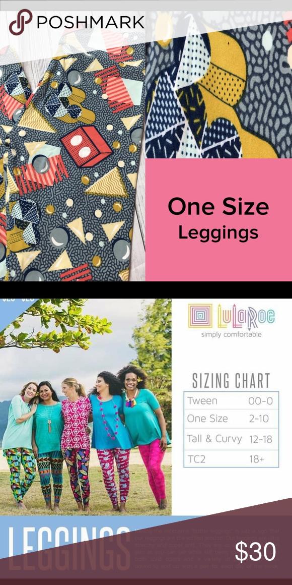 Lularoe Tc2 Leggings 2 For 40lularoe Disney One Size Fits Sizes 10 New With Tags