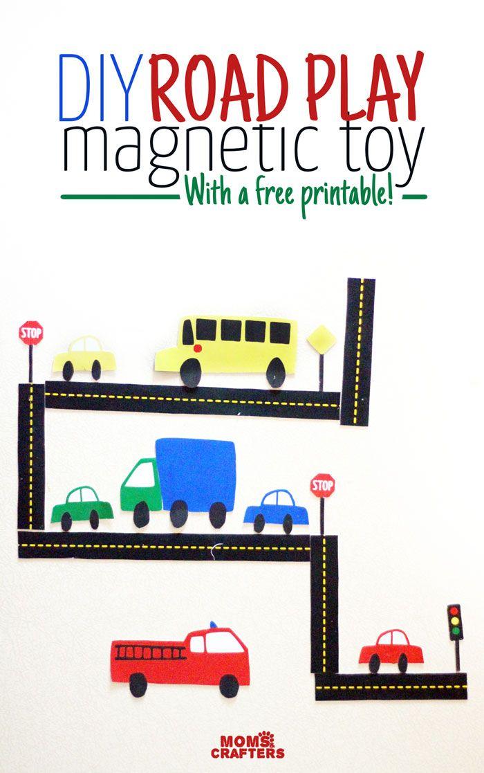 car magnets a free printable magnetische spiele basteln diy magnetic games pinterest. Black Bedroom Furniture Sets. Home Design Ideas