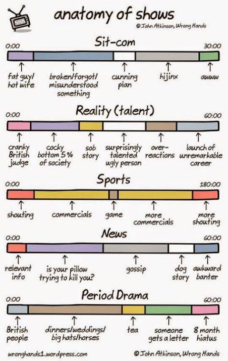 A useful primer on TV shows.