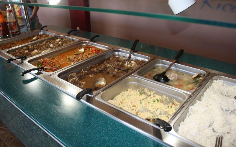 Partial Buffet At Filipino Kitchen See