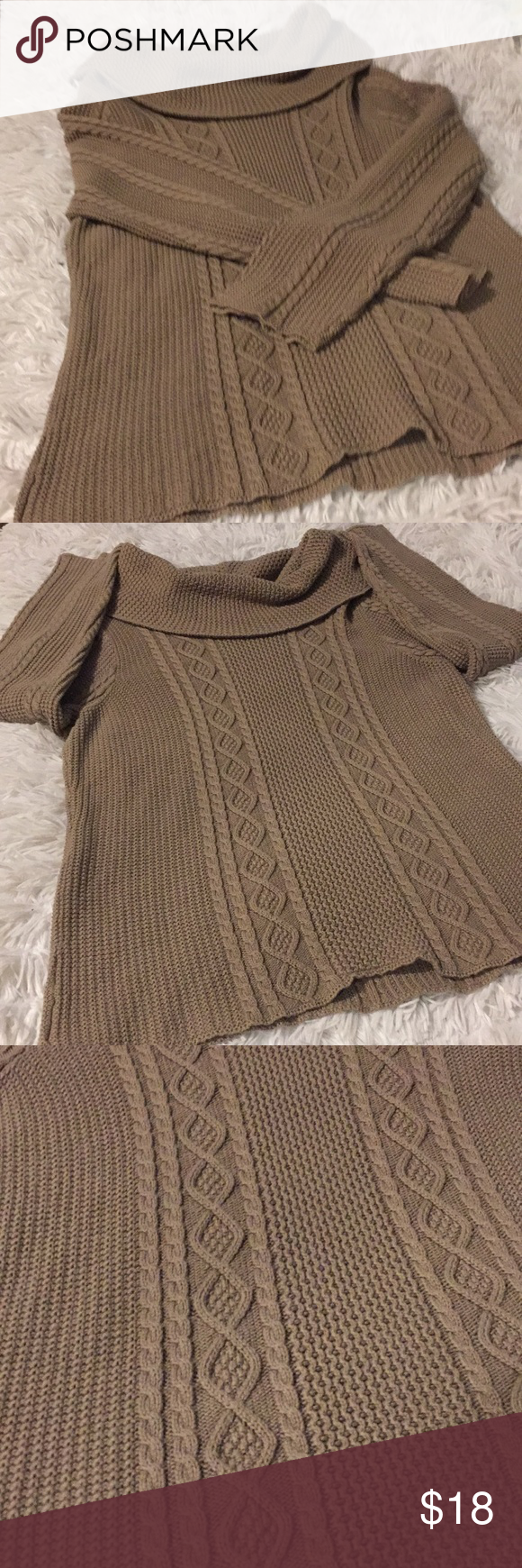 jeanne pierre cowl neck sweater preloved in good condition  smoke free environment  sz xl  100