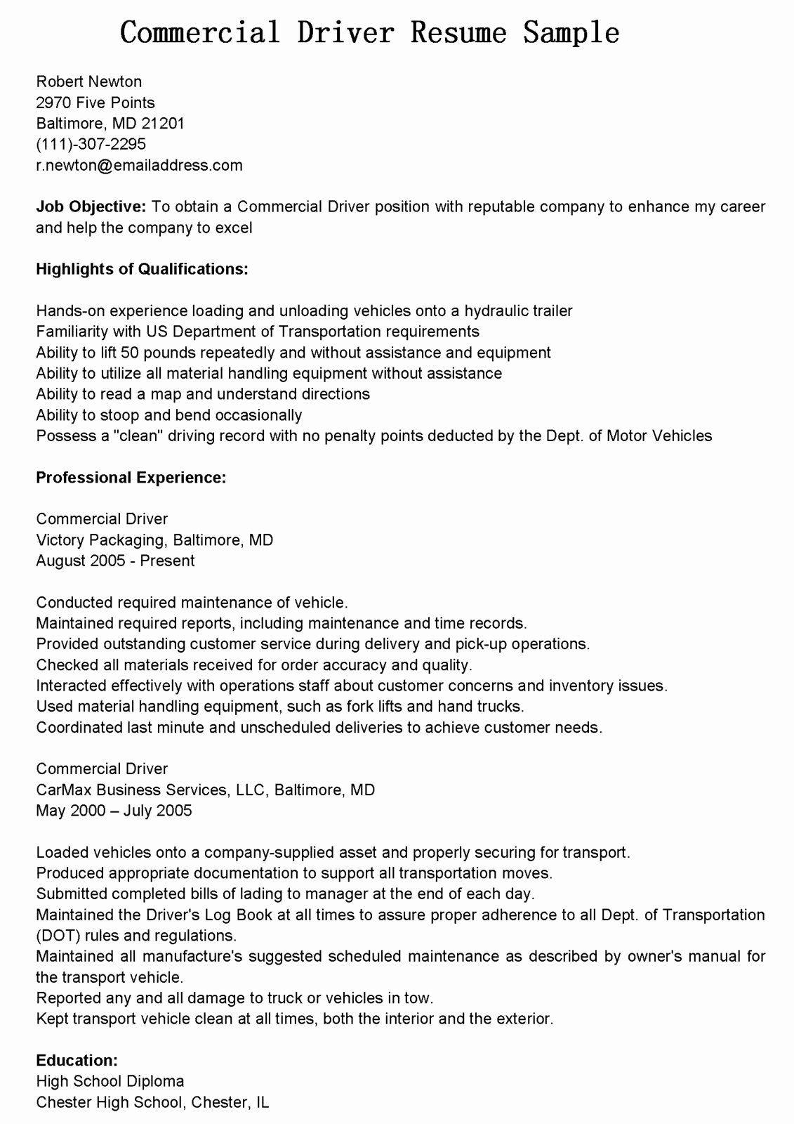Truck Dispatcher Job Description Resume Unique Truck Dispatcher Job Description Resume Inspirational Tow In 2020 Driver Job Job Description Resume