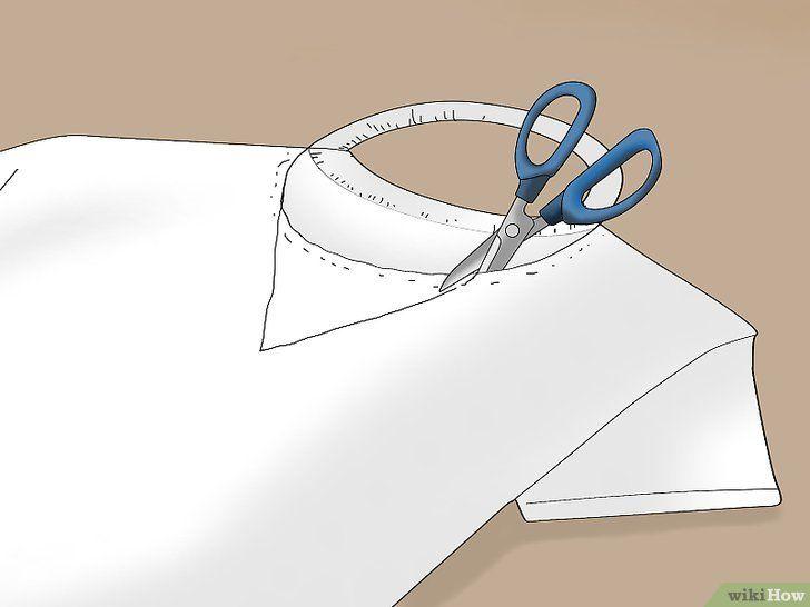 Faire un col en V sur un t-shirt   – Sewing