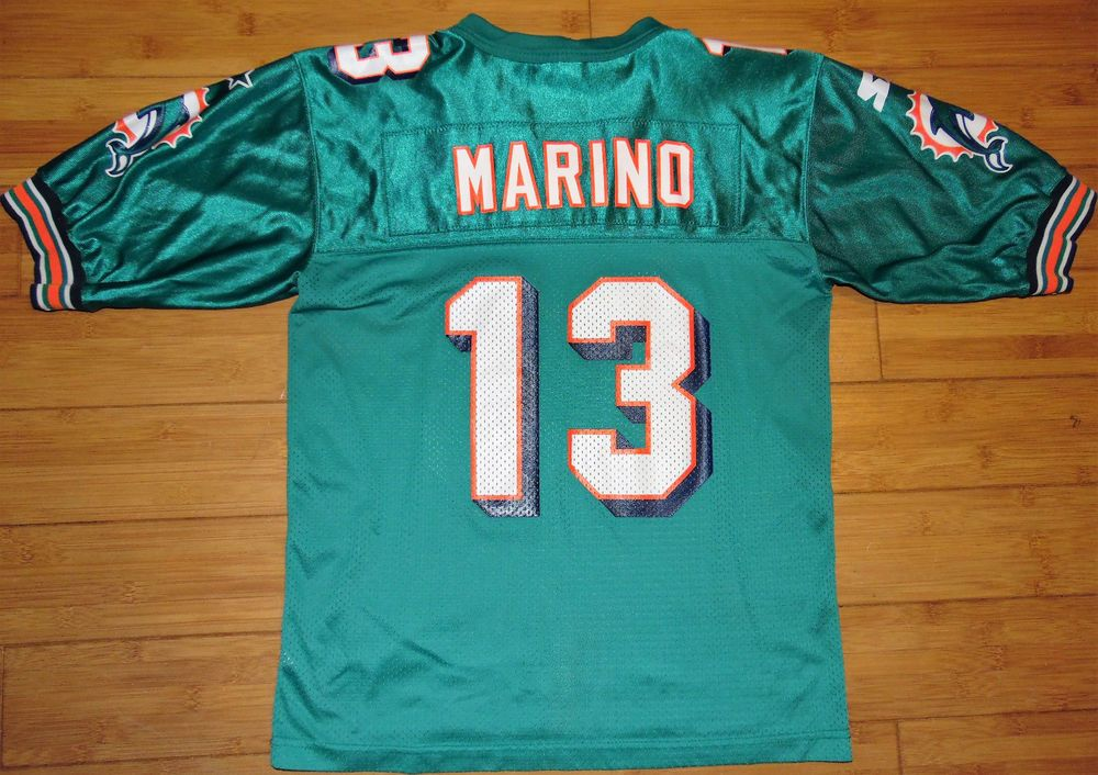 cheap for discount 0387f 50f58 Details about Miami Dolphins Vintage Logo 7 Dan Marino ...