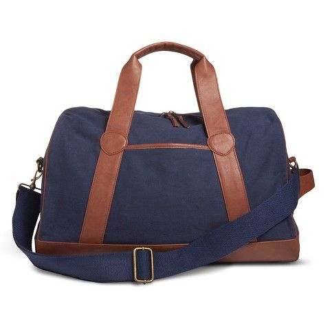2348.9 29.99 (Free Ship) Target Men's Weekender Bag Navy - Merona ...