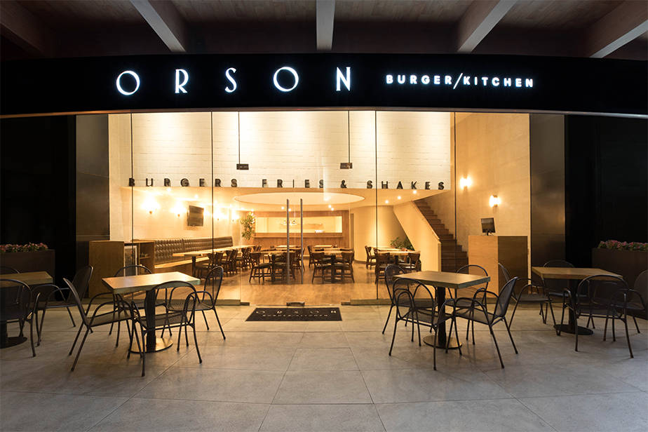 Anagrama studio based in mexico city designed the brand identity for orson burger kitchen a hamburger restaurant that serves up the much loved american