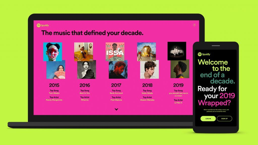 The Latest Spotify Wrapped Will Embarrass You With Your Songs Of The Decade Spotify Year Songs What Is Spotify