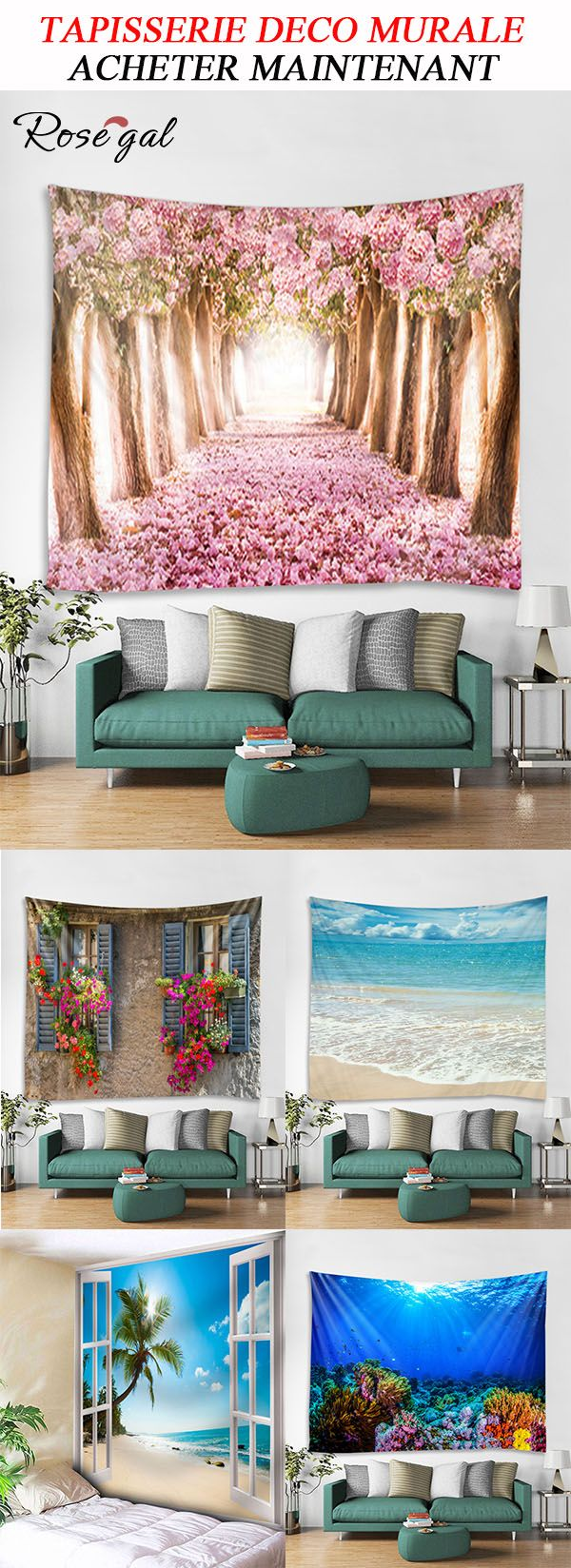 tapisserie murale tapisserie moderne tapisserie design. Black Bedroom Furniture Sets. Home Design Ideas