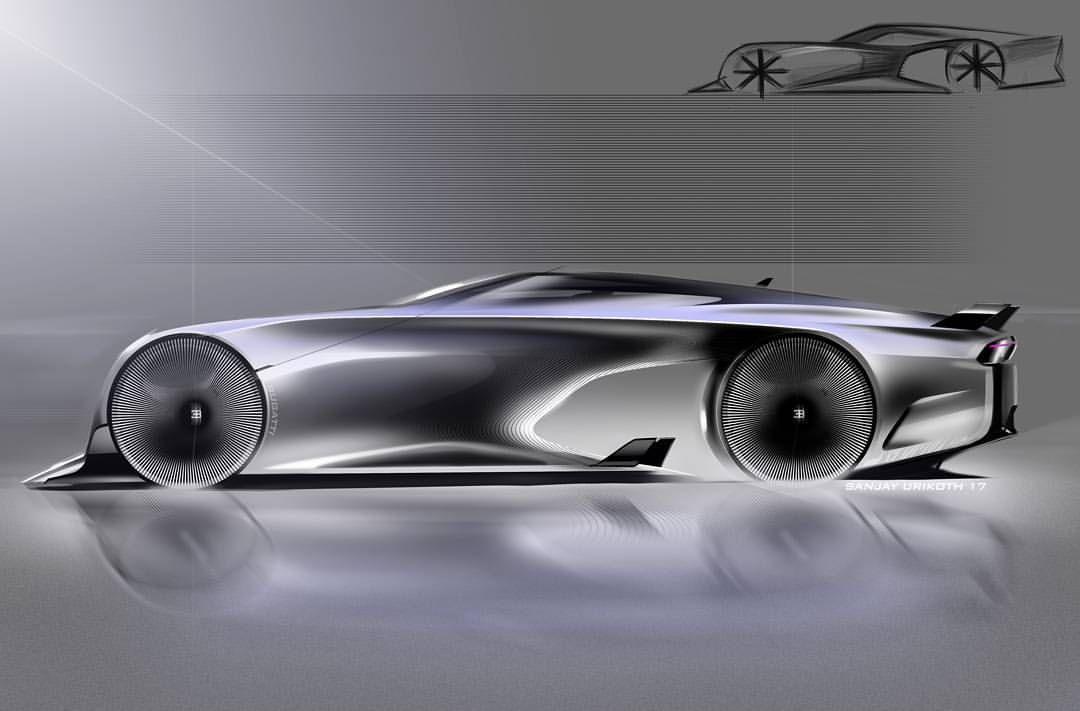 Bugatti Sketch Cardesign Carsketch Design Conceptcar Sketch