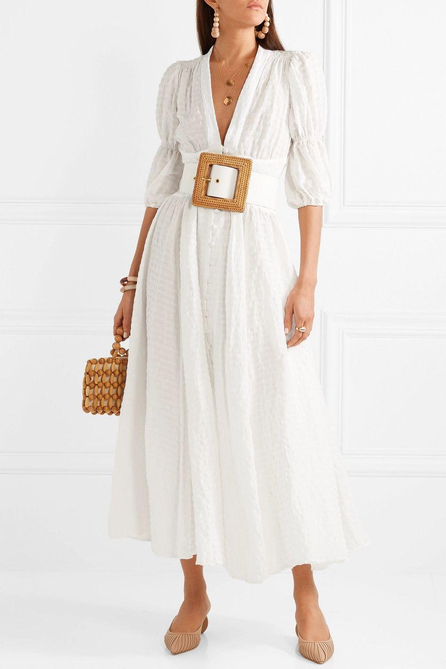 15 Seriously Luxurious Sustainable Fashion Brands Eluxe Magazine Maxi Dress Dresses White Maxi Dresses