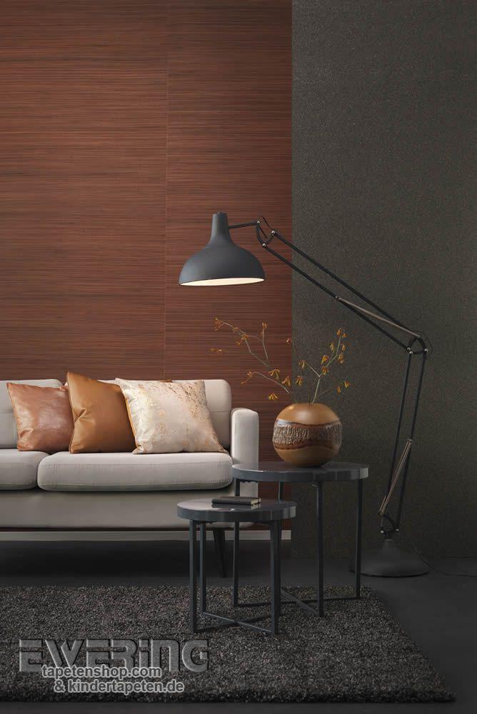 Wunderbar 23 Vista 5 07 Brauner Bambus Und Anthrazit Farbene Granulate Wirken  Unverwechselbar Im Wohnzimmer.