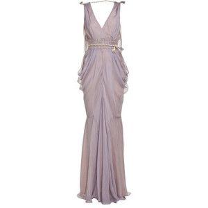 Violet mermaid dress