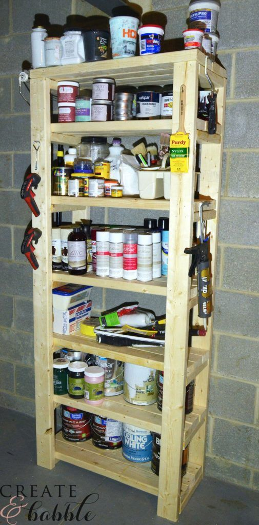 30 Awesome Things You Can Build With 2x4s Paint Storage Furniture Projects Woodworking