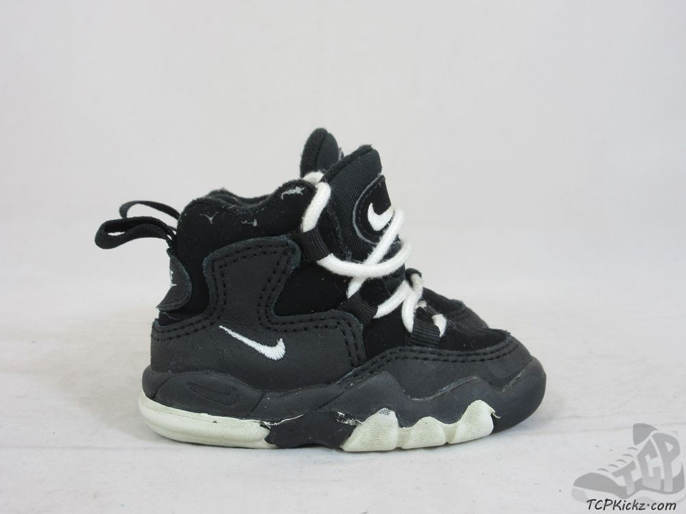 sale retailer 6f7ca 5024f Vtg OG 1994 Nike Air Force Trainer sz 3c III Black White ...