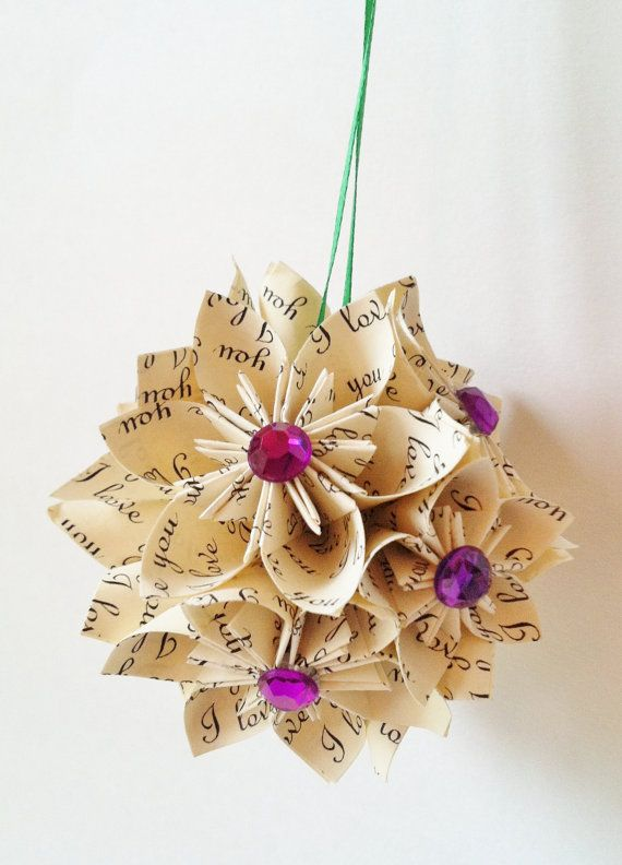 Christmas paper crafts for adults christmas handmade paper craft decorations family holiday Pinterest home decor crafts christmas