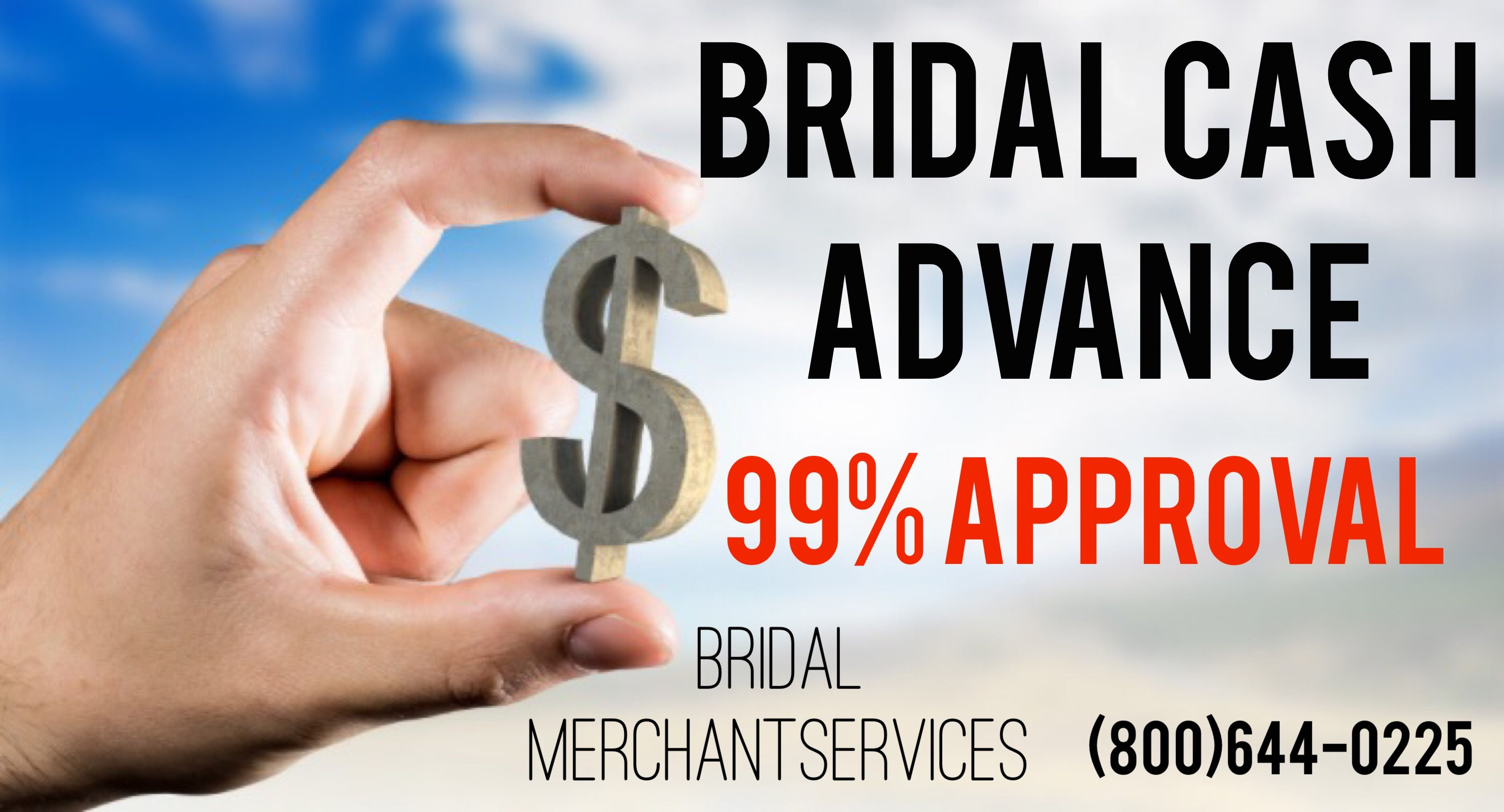Did you know that Bridal Merchant Services offers Cash