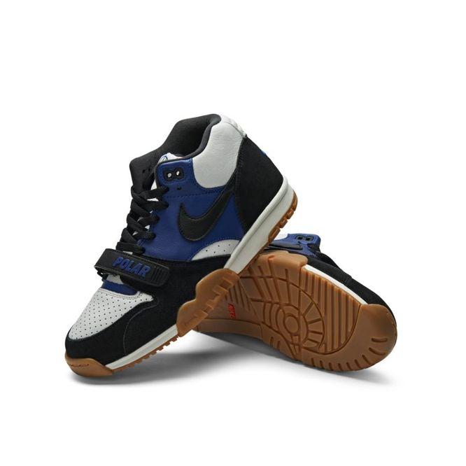 Buty Nike Sb X Polar Skate Co Air Trainer I Black Deep Royal Blue Summit White Nike Sb Deep Royal Blue My Black