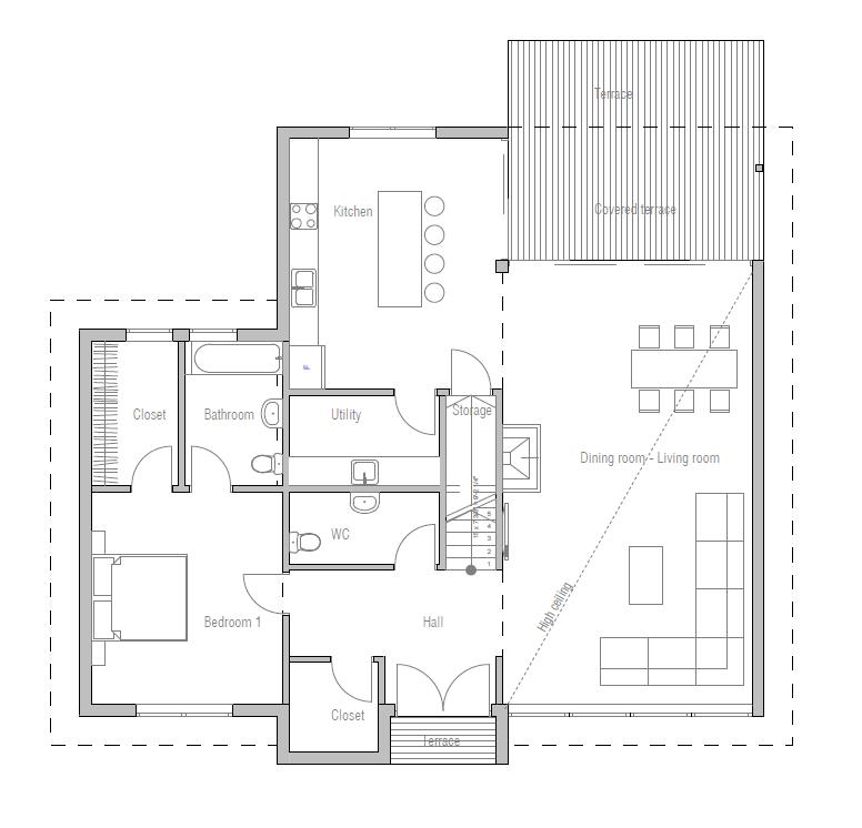 Modern houses 10 house plan casa for Modificaciones de casas pequenas