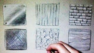 Dessiner Une Maison Moderne Avec Mur En Pierre Youtube