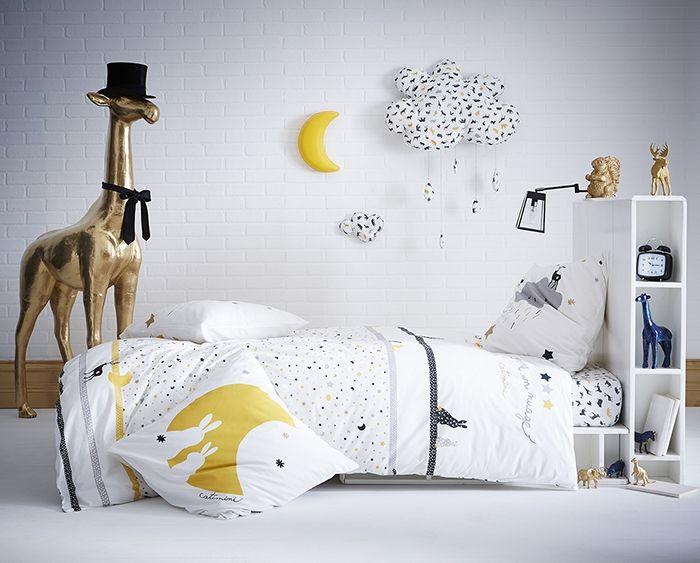 linge de lit enfant catimini comme un nuage housse de. Black Bedroom Furniture Sets. Home Design Ideas