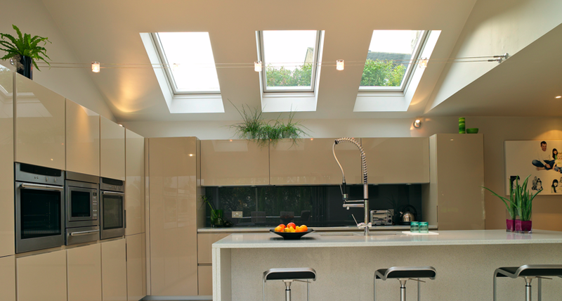 Merveilleux Triple Velux And Track(?) Lighting | Kitchen Ideas | Pinterest | Roof Design,  Kitchens And Window