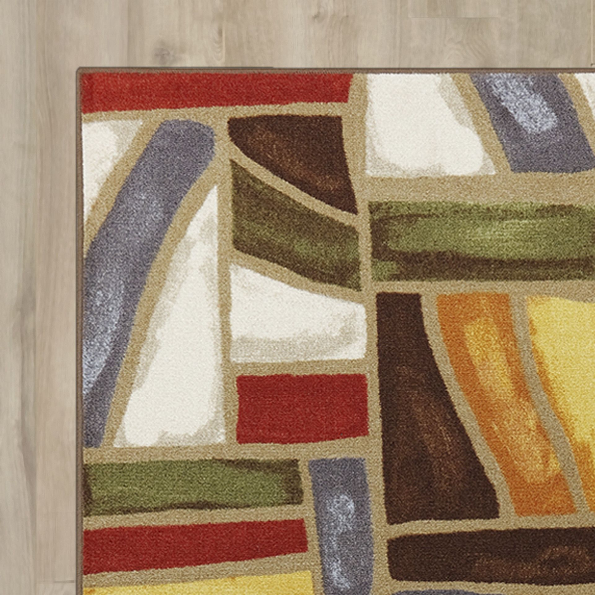 York Redbrown Area Rug