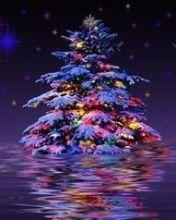 Immagini Animate Glitter Natale.Albero Di Natale Glitter Alberi Di Natale Candele Di Natale Immagini Di Natale
