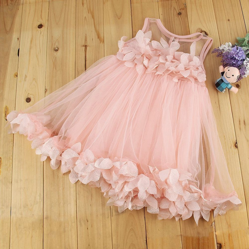 Baby dresses for wedding  Flower Girls Kids Baby Princess Pageant Wedding Party Lace Tulle