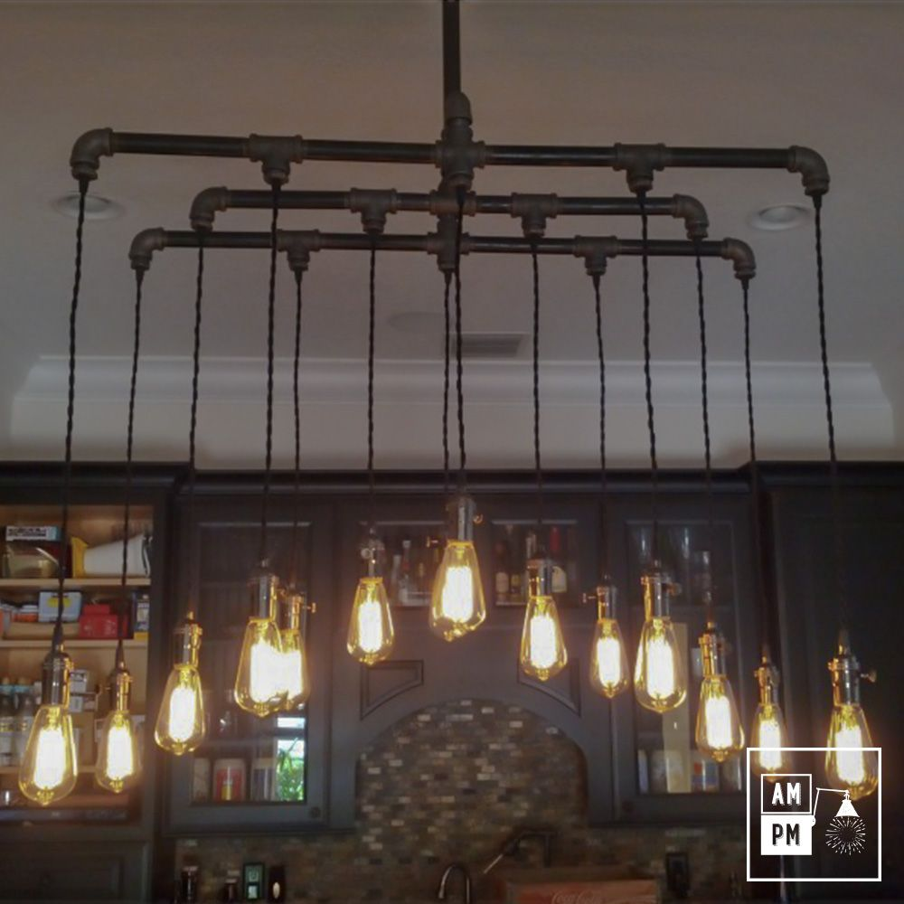 L industrielle est une imposante lampe de type suspension for Suspension luminaire pour bar