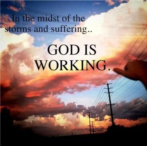 God Will See You Through Every Storm Jesus Christmy Portion