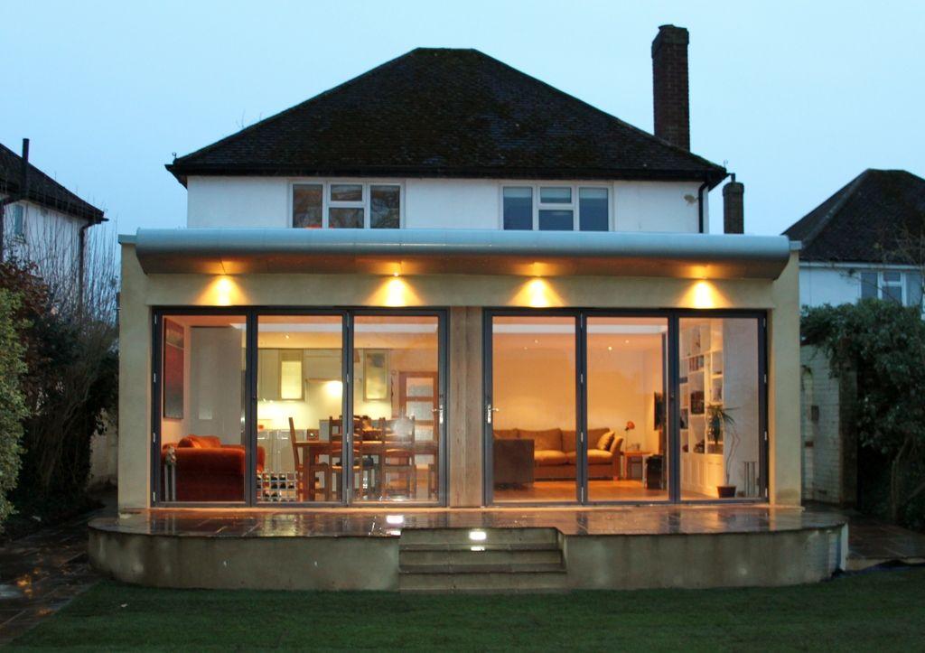 flat roof extension design google search general house. Black Bedroom Furniture Sets. Home Design Ideas