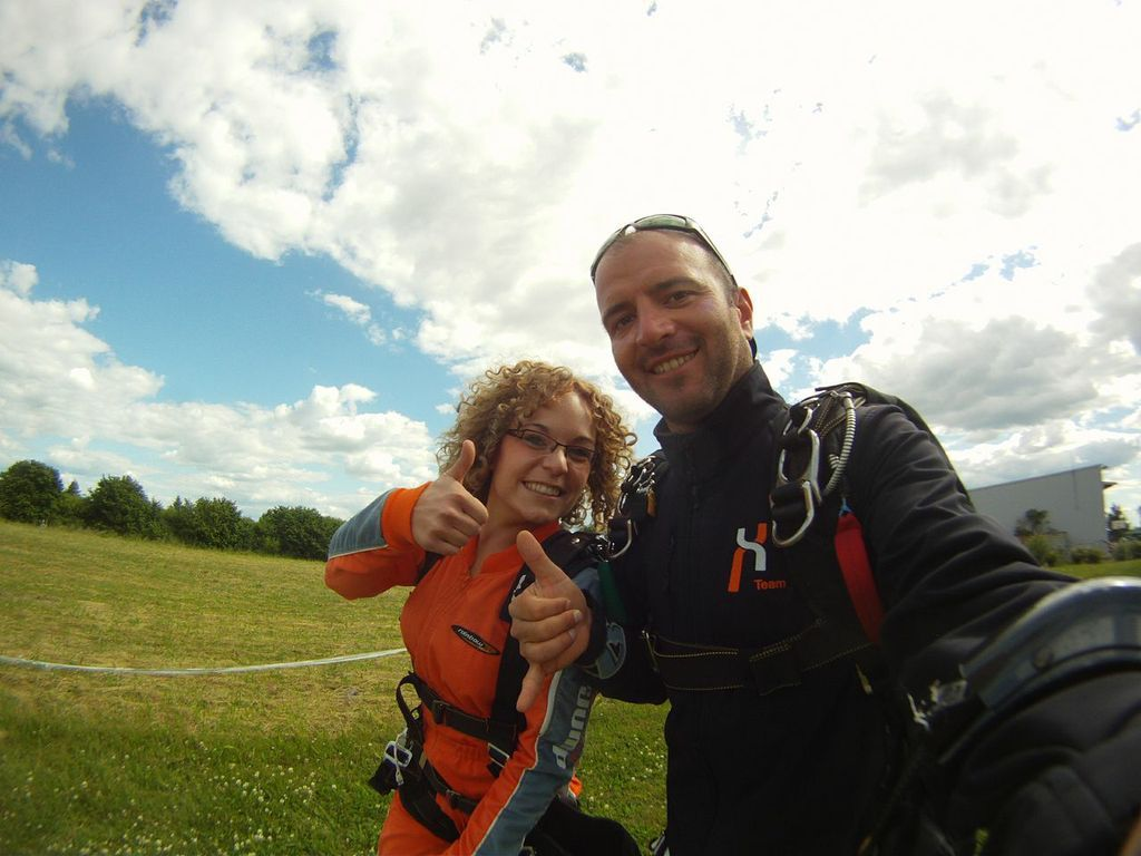 On the way to the GoJump plane! #skydiving  http://www.gojump.de/en.html