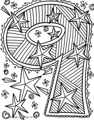 9 Sayısı Matematik Coloring Pages Abstract Coloring Pages Ve