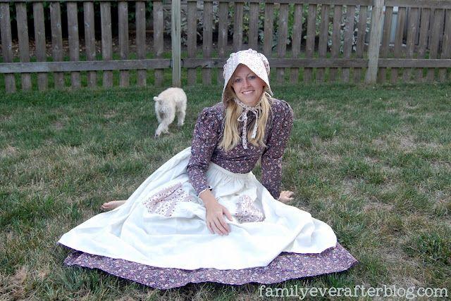 Pioneer Costume Tutorial...Little House On The Prairie