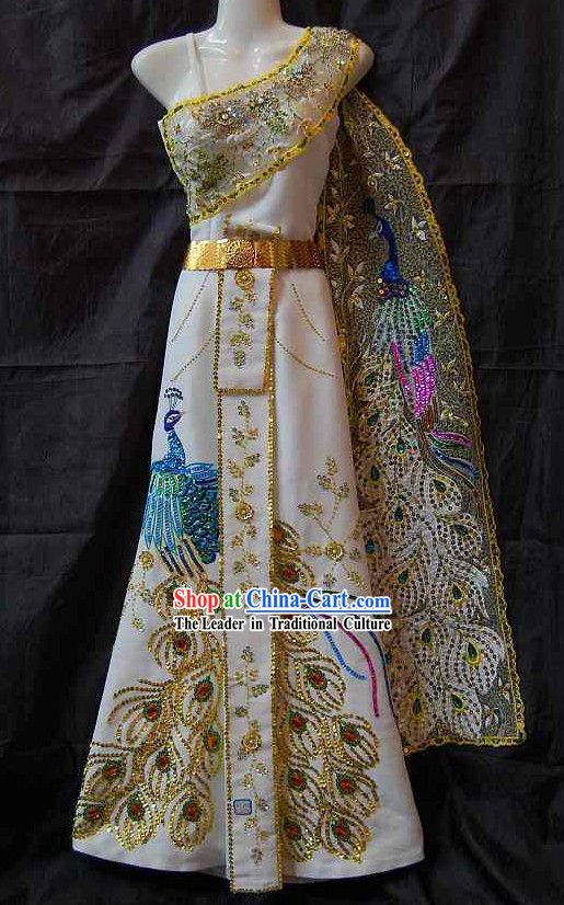 Thailand National Costume for Women Thailand national