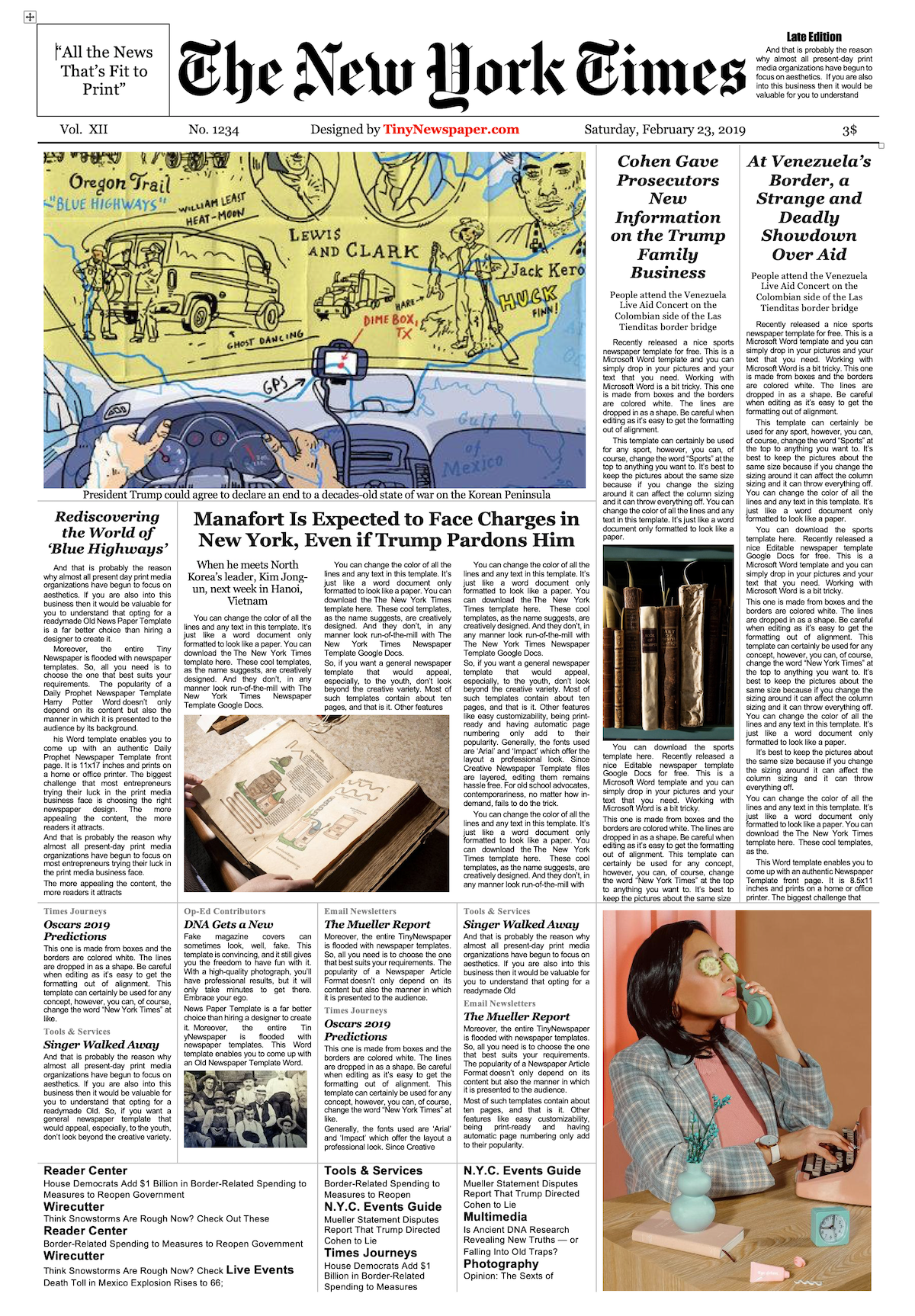New York Times Newspaper Template Google Docs Download Newspaper Template Google Docs Template Google