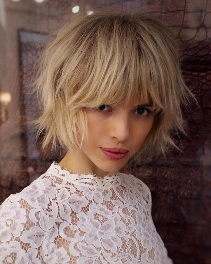 70 Overwhelming Ideas for Short Choppy Haircuts Coupe de