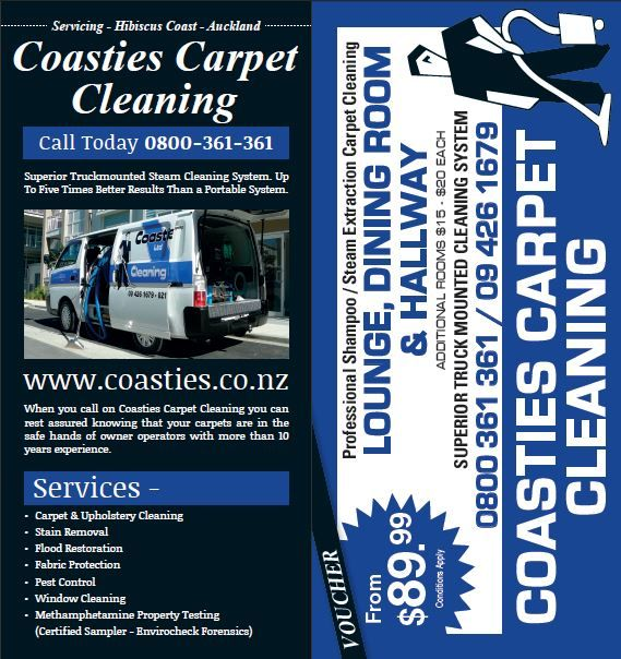 coasties carpet cleaning dl leaflet