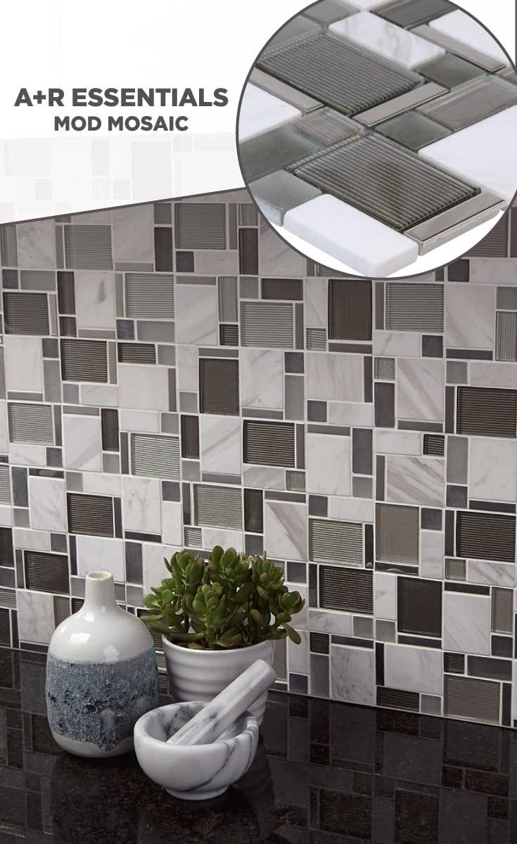 Tile Lowes Mosaics Glassmosaics Backsplash Chiglabpnem004 Available At Lowe S And Lowes Com Mosaic Glass Kitchen Design Decorative Bowls