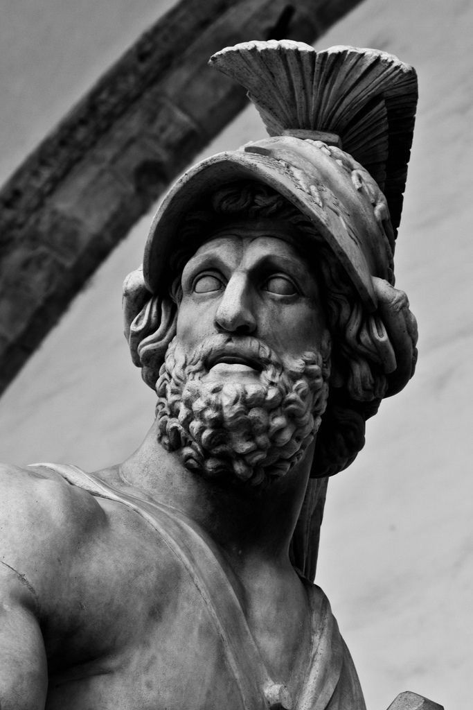 Warrior #greekstatue #greekstatue