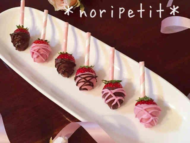 簡単♡ストロベリーチョコディップ♡の画像