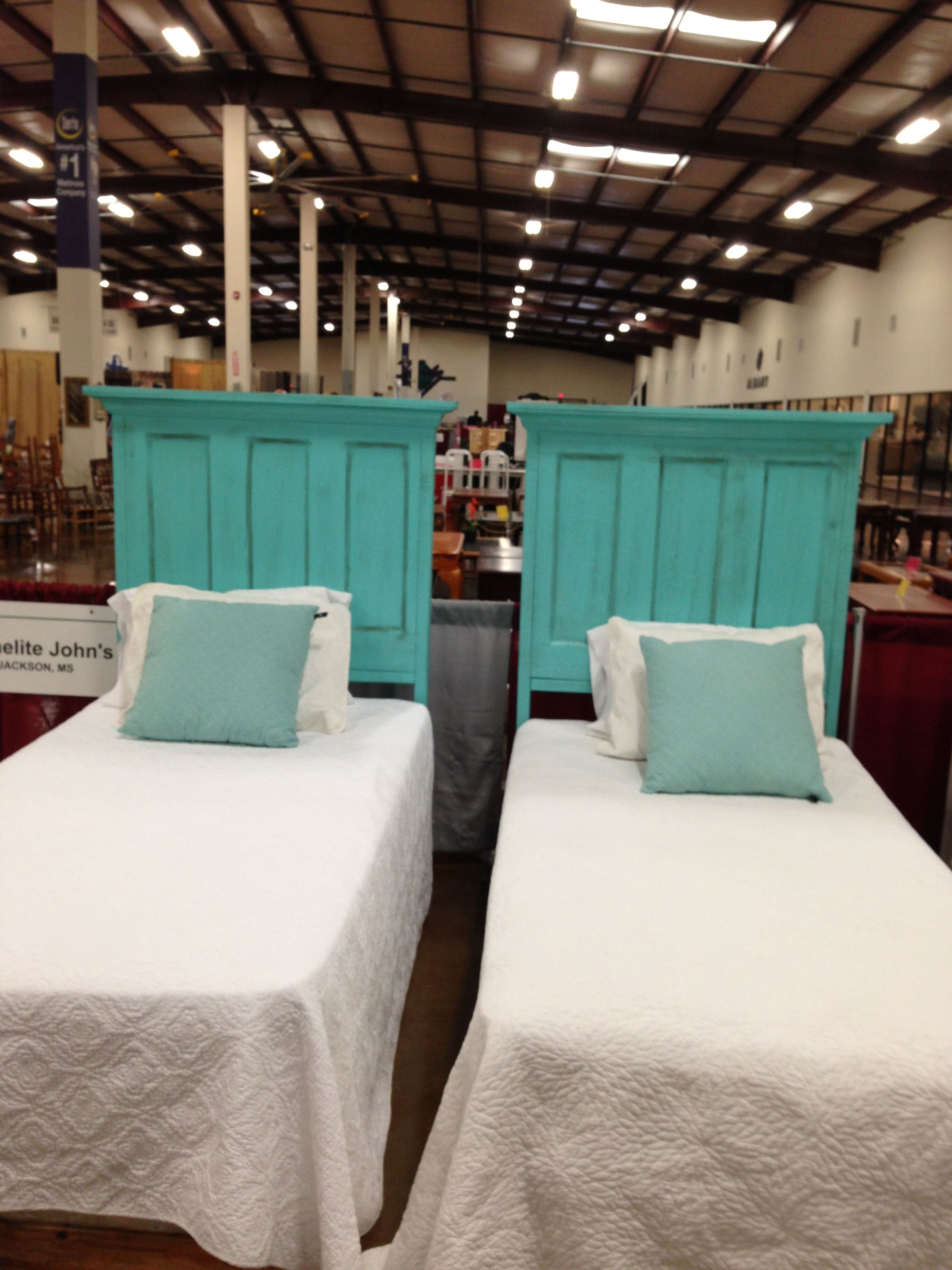 Twin Headboards Made Out Of Old Doors Homelite Johns In Mississippi 601 427 5028 Twin