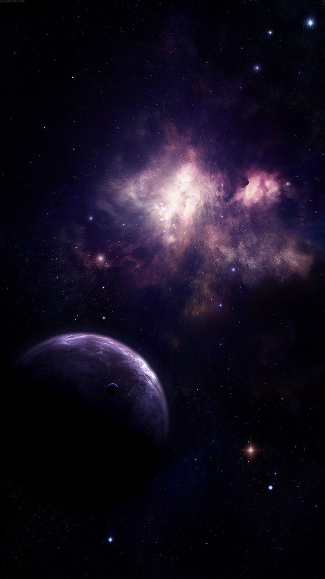 Universe Planet Nebula Shiny Outer SPace View #iPhone #6 #plus #wallpaper | iPhone 6~8 ...