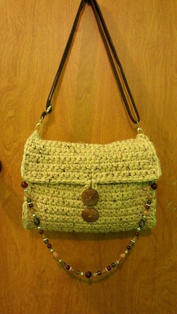 CROCHET How To #Crochet Chunky Handbag Purse #TUTORIAL #137