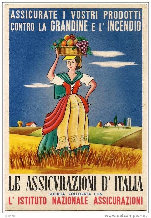 Pubblicita Agricoltura Le Assicurazioni D Italia Vedi Retro N Vg In Vendita Su Delcampe Pubblicita Retro Pubblicita Vintage Vecchie Pubblicita